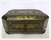 Japanned Sewing Box