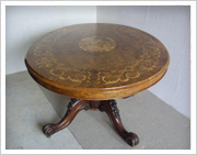 Marquetry Loo Table